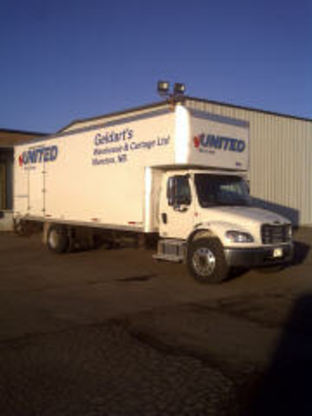 Geldart's Warehouse & Cartage Ltd - Moving Services & Storage Facilities - 506-857-3114