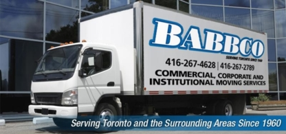Babbco Office Services Limited - Moving Services & Storage Facilities - 416-267-4629