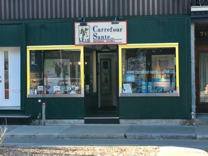 Carrefour Santé R M Inc - Magasins de produits naturels - 514-524-7222