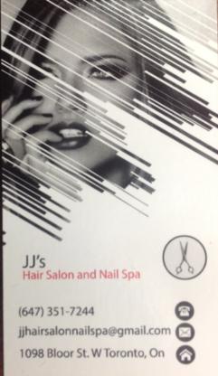 JJ Hair Salon and Nail Spa - Beauty & Health Spas - 647-351-7244