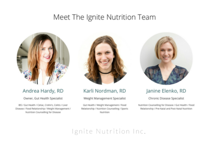Ignite Nutrition Inc - Dietitians & Nutritionists - 403-808-2348