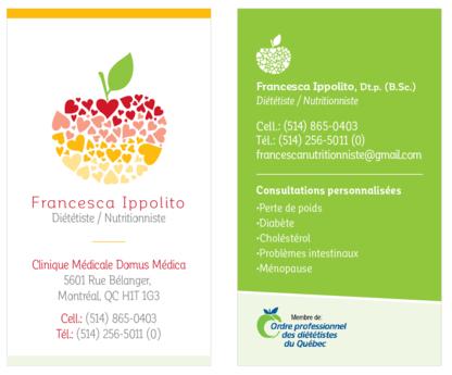 Francesca Ippolito Diététiste-Nutritionniste - Diététistes et nutritionnistes