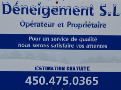 Déneigement S L - Snow Removal - 450-475-0365