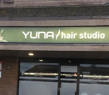 Yuna Hair Salon - Salons de coiffure - 604-306-2277