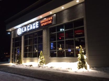 La Cage - Brasserie sportive - American Restaurants - 450-461-1115