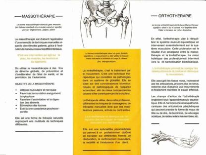 Mathieu Rochette Massothérapie Spécialisée - Massage Therapists - 514-476-3874