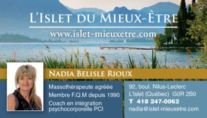 L'Islet du Mieux-Être - Massothérapeutes - 418-247-0062