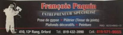 François Paquin Enr. Entrepreneur Spécialisé - Rénovations