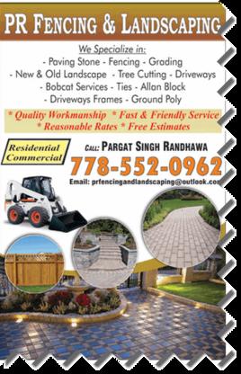 PR Fencing & Landscaping - Landscape Contractors & Designers