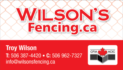 Wilson's Fencing - Fences