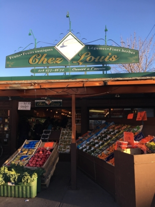 Chez Louis - Magasins de fruits et légumes - 514-277-4670