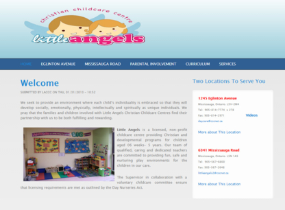 Little Angels Two Christian Childcare - Daycare - Childcare Services - 905-567-6800