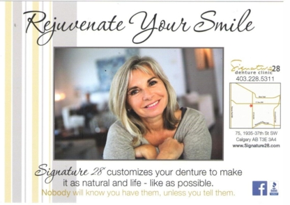 Signature 28 Denture Clinic - Teeth Whitening Services - 403-228-5311