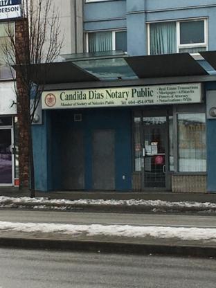 Dias Candida - Notaries Public - 604-454-9788