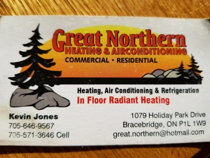View Great Northern Heating and Air Conditioning's Bracebridge profile