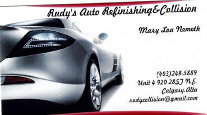 Rudy's Auto Refinishing & Collision - Auto Body Repair & Painting Shops