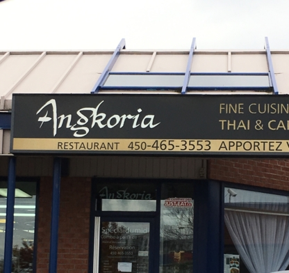 Restaurant Angkoria - Asian Restaurants - 450-465-3553