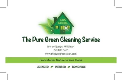The Pure Green Cleaning Service - Nettoyage de maisons et d'appartements