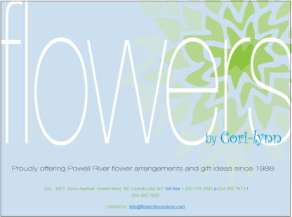 Flowers By Cori-Lynn - Florists & Flower Shops
