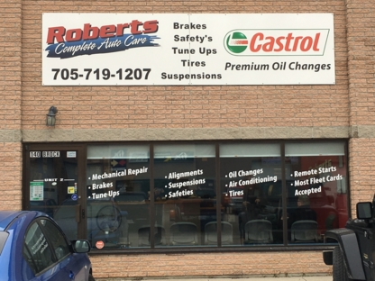 Roberts Complete Auto Care - Car Repair & Service - 705-719-1207