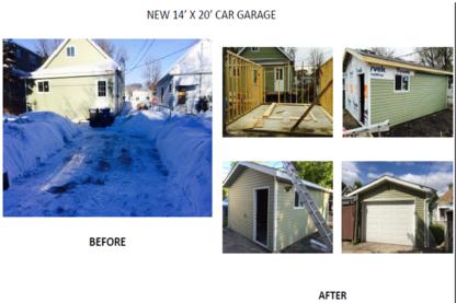 I-Luster-Your- Garage & Construction Services - Garage Builders