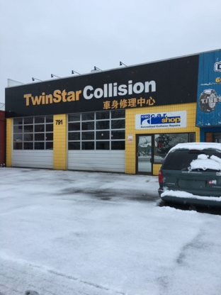 Twinstar Collision Ltd - Réparation de carrosserie et peinture automobile - 604-875-8946