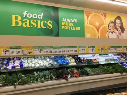 Food Basics - Grocery Stores - 613-731-0066