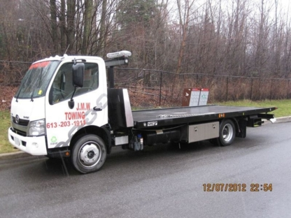 JMW Towing - Vehicle Towing - 613-203-1911