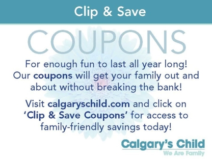 Calgary's Child Magazine - Magazine Dealers