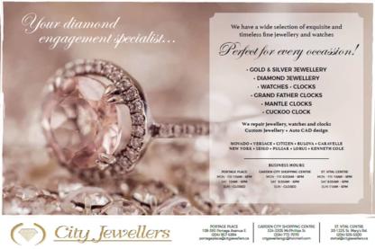 View City Jewellers's Winnipeg profile