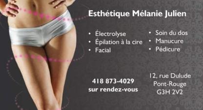Esthétique Mélanie Julien - Épilation à la cire