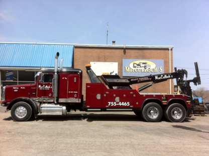 MacCulloch's Truck Services - Vehicle Towing - 902-755-4465