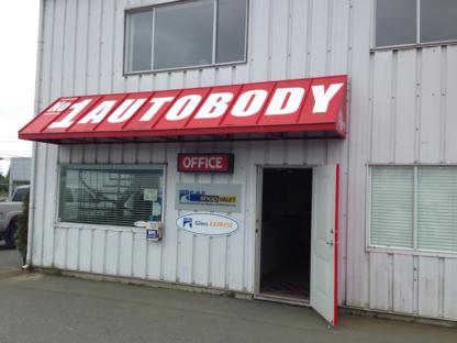 No 1 Autobody - Réparation de carrosserie et peinture automobile - 250-287-7751