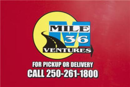 Mile 36 Ventures - Trucking - 250-261-1800