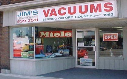 Jim's Appliance Service - Vacuum Cleaner Parts & Accessories