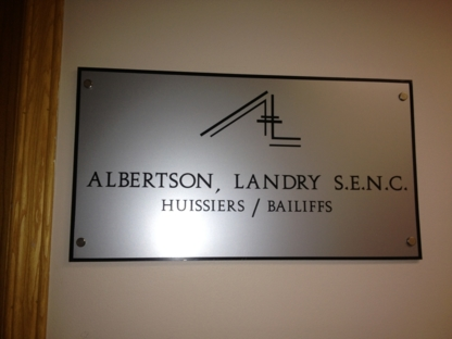 Albertson Landry - Huissiers de justice - 514-278-2414