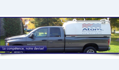 Réfrigération Atom Inc - Entrepreneurs en réfrigération - 418-831-2512