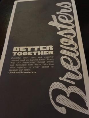 Brewsters Brewing Company & Restaurant - Brasseurs