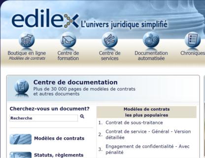 Edilex Inc - Librairies - 514-745-5410