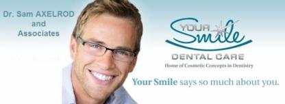 Dr. Samuel Axelrod - Dentists - 905-576-4537