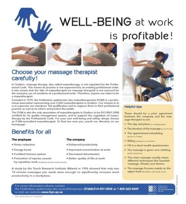 Massothérapie Josée - Massage Therapists - 418-551-5466