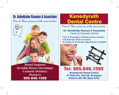 Kenedy Ruth Dental Centre - Dentists - 905-846-1595