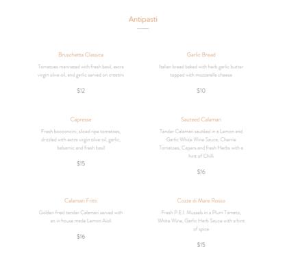 La Cantinella Ristorante Italiano - Italian Restaurants - 519-448-3993