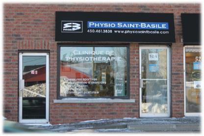 Physio Saint-Basile - Physiothérapeutes et réadaptation physique - 450-461-3838