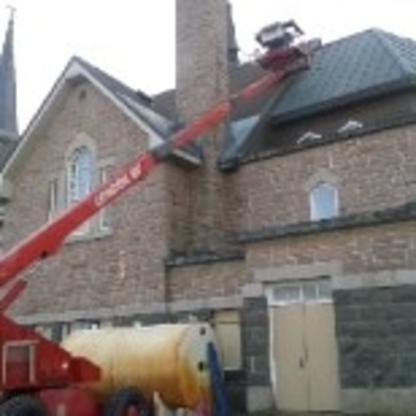 Maçonnerie GMC Inc - Construction et réparation de cheminées