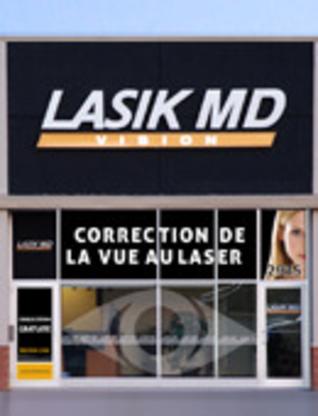 LASIK MD - Correction de la vue au laser - 819-822-2200