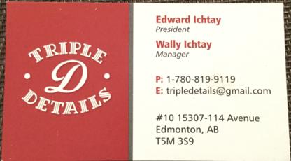 Triple D Details - Nettoyage résidentiel, commercial et industriel