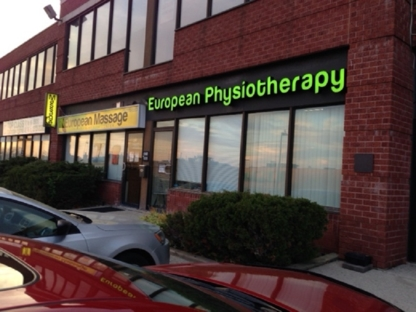 European Massage & Physiotherapy Center - Physiothérapeutes et réadaptation physique - 905-270-5553