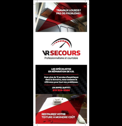 VR Secours - Recreational Vehicle Repair & Maintenance