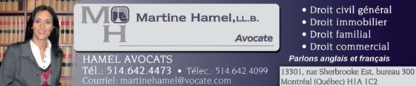 Étude Me Martine Hamel, Avocats - Real Estate Lawyers - 514-642-4473